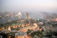 Aussicht auf Kairo