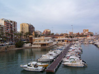 Hafen in Alicante