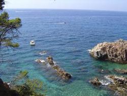 Klippen an der Costa Brava