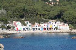 Fischerdorf an der Costa Brava