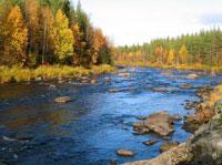 Fluss Finnland