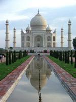 Auswandern nach Indien- hier das Taj Mahal
