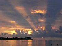 Sonnenuntergang auf Jamaica