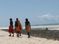 Einwohner in Kenia