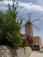 Windmühle - Auswandern nach Mallorca