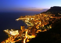 Monte Carlo bei Nacht