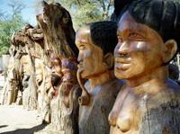 Statuen Namibia