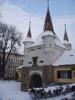 Rumänien im Winter