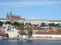 Ansicht auf Prag