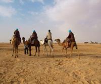 Karavane in Tunesien