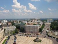 Aussicht auf Kiev