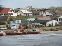 Fischerdorf in Uruguay