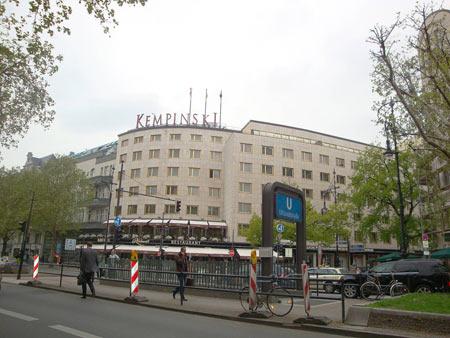 Kempinski-Hotel Bristol, wie die anderen ein 5 Sterne-Hotel