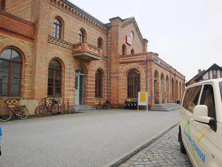 Der Bahnhof Königs Wusterhausen