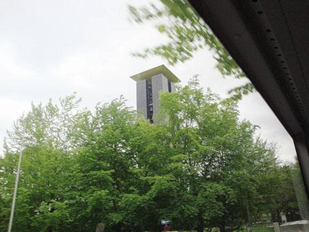 Glockenturm im Tiergarten