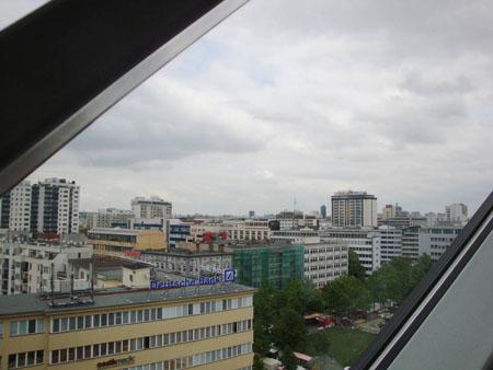 Aussicht von der 7. Etage bis zum Fernsehturm