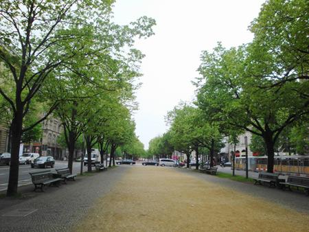 Kreuzung Friedrichstraße