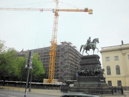 Reiter-Standbild Friedrich der Große