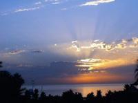 Ausblick von der Costa de Sol