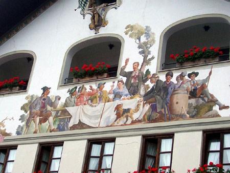 lueftlmalerei partenkirchen
