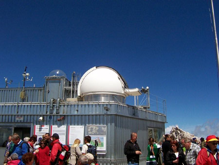 observatorium zugspitze