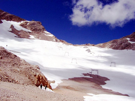 schneeferner gletscher