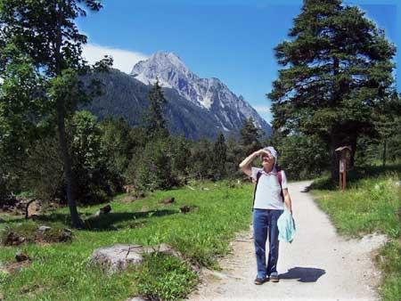 wanderung mittenwald autersee