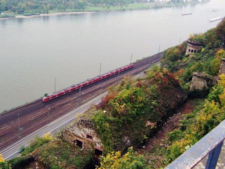 Aussicht Rhein Ehrenbreitstein
