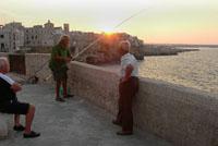 Fischer in Apulien