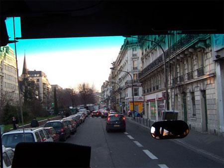...durch die Straßen von Paris