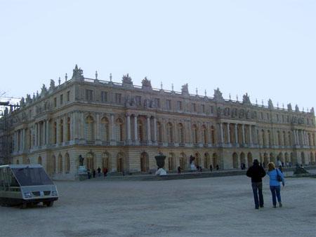 Schloßplatz von Versailles