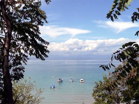 Gardasee Blick