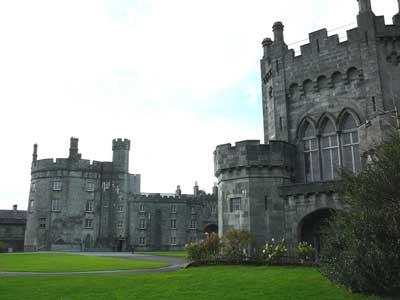 Eine Burg in Kilkenny