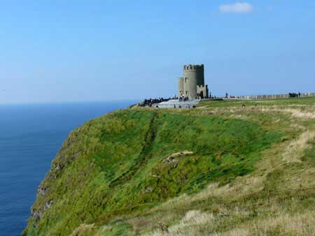 Irland Turm - O'Brien's Tower, Cliffs of Moher