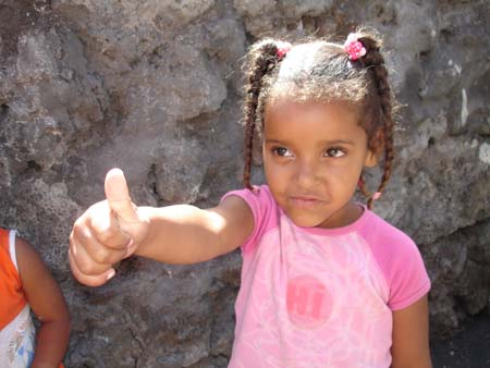 Kapverdianisches Mädchen