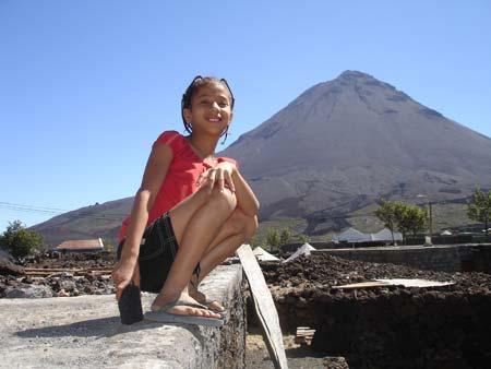 Der Vulkan Pico de Fogo auf der Kapverden-Insel Fogo