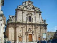 Die Kirche Madre in Apulien