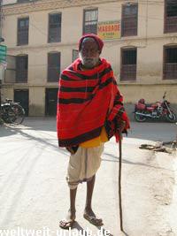 Mann in Nepal