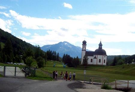 Park mit Seekirchl
