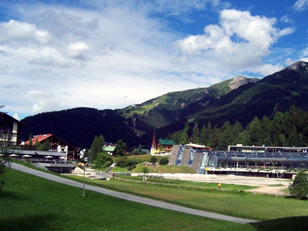 Wintersportpark in Seefeld