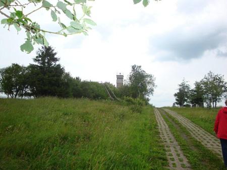 Museumsgrenze mit Wachtturm