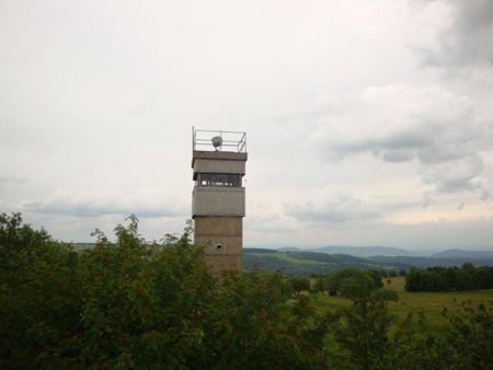Ehemaliger Wachturm zwischen Thüringen und Bayern