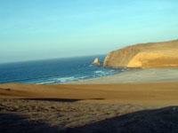 Strand in Peru