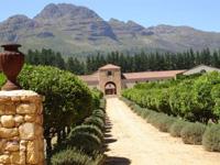Ein Weg in Südafrika