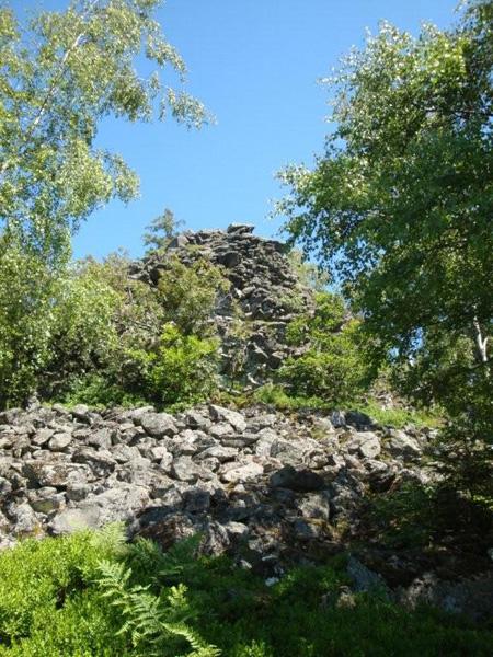Teufelstein mit Basaltmeer