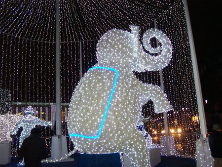 Weihnachtliches Paris