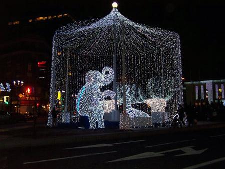 Paris in Weihnachtsstimmung
