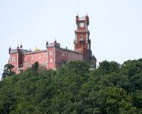 Eine Burg in Portugal