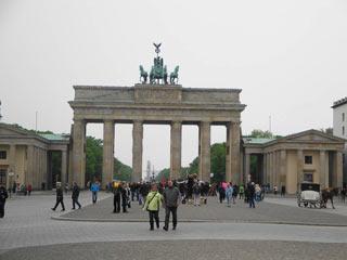 Das Brandenburger Tor mit seinen 5 Durchgängen