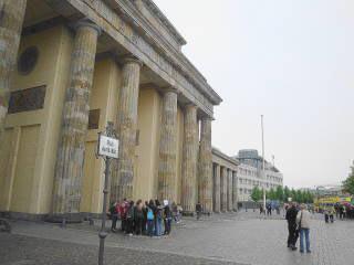 Westseite Brandenburger Tor